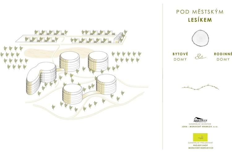 Znojmu se podařilo získat investora pro výstavbu domů a bytů u Městského lesíku