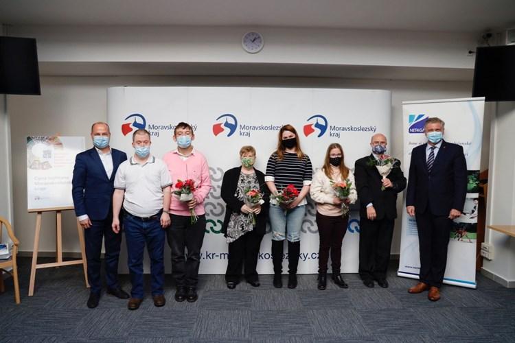 Umělci s hendikepem dostali cenu hejtmana Moravskoslezského kraje