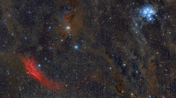 Popis: California-Taurus-M45.
