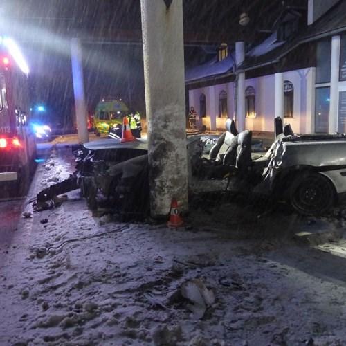 Tragická dopravní nehoda u Zlatých Hor