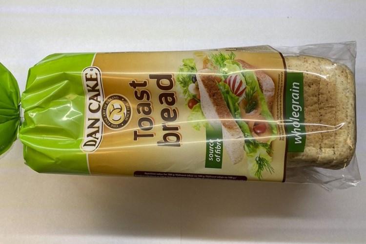 Toustový chléb může obsahovat ostré kovové střepiny