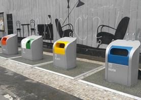 Praha 8 zvýšila kapacity kontejnerů pro tříděný odpad