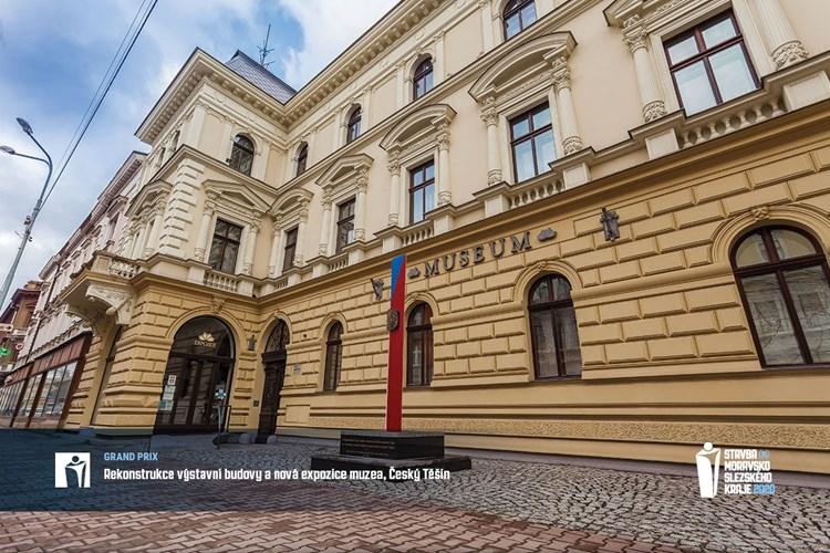 Stavbou Moravskoslezského kraje je Muzeum Těšínska, získalo Cenu Grand Prix