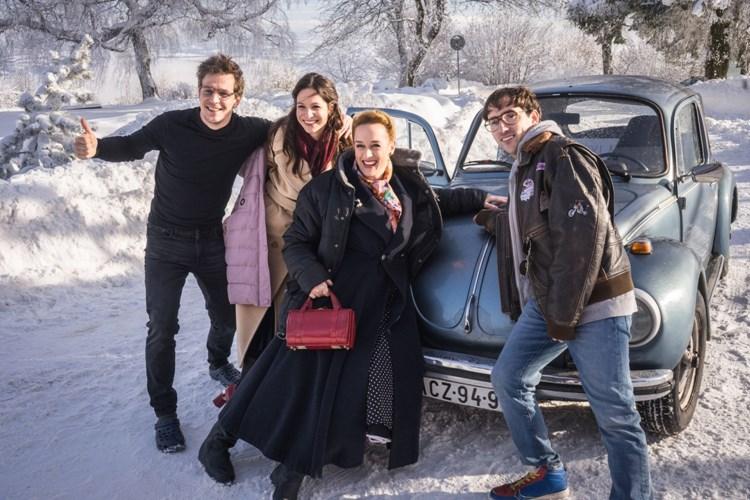 Skončilo natáčení romantické komedie Jedině Tereza