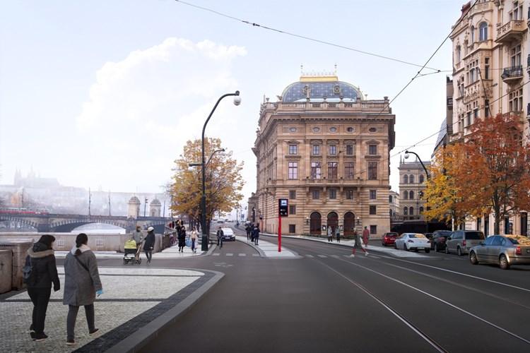 Plynulá MHD, nové zastávky a stromy, širší chodníky  i čistší vzduch. Centrum Prahy čeká největší proměna za poslední desítky let
