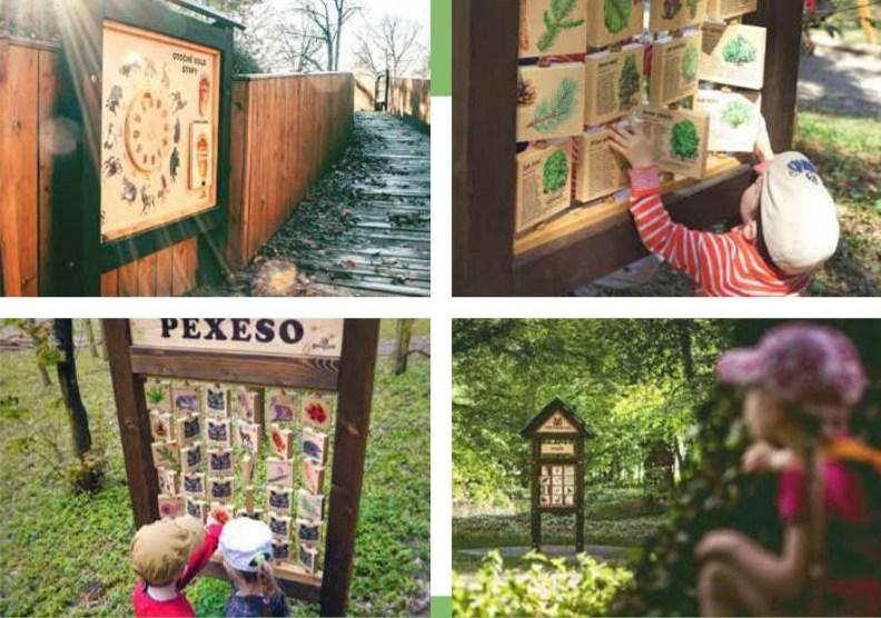 Herní prvky pro děti. Projekt Lucie Drahošové navrhuje dřevěné prvky pro děti a mládež. Ilustrační foto.