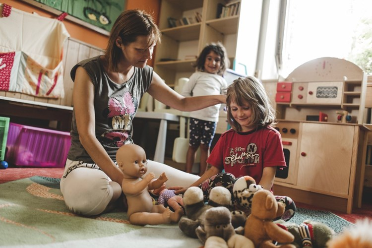 Rekonstrukce objektu pro matky s dětmi