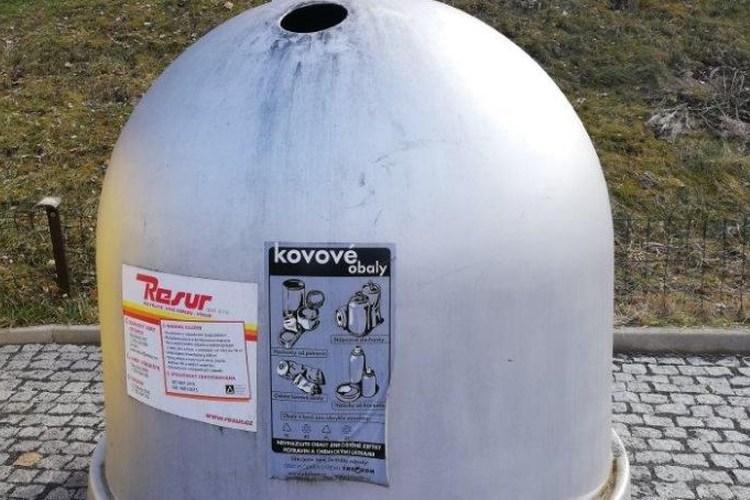 Karlovy Vary  navýší počet kontejnerů na kovové obaly