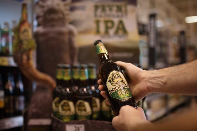 Radegast nabízí první svrchně kvašené pivo ve své historii
