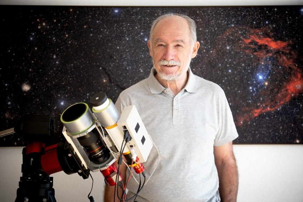 Za rok 2020 vybrala porota jako astrofotografa roku a nositele Ceny Jindřicha Zemana pana Evžena Brunnera z Brna.