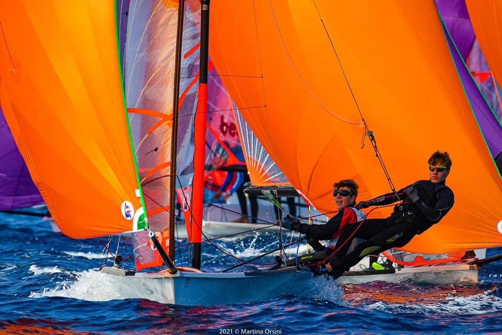 Michal a Lukáš Krsičkovi z pražského Yacht Clubu CERE.