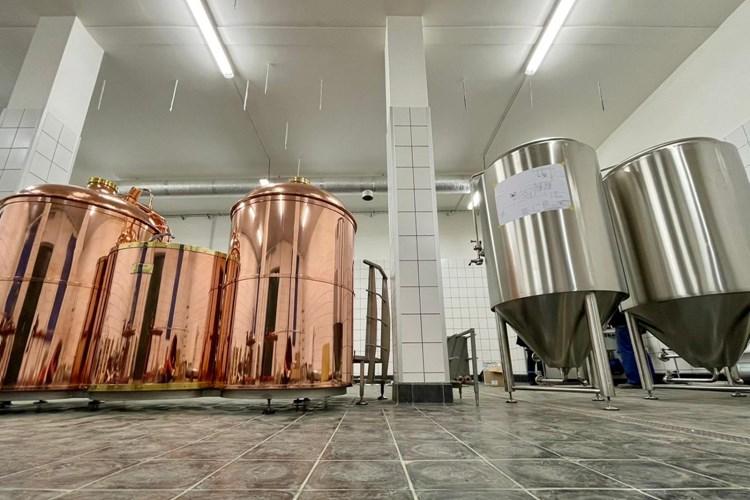 V pivovaru začala montáž varny a tanků
