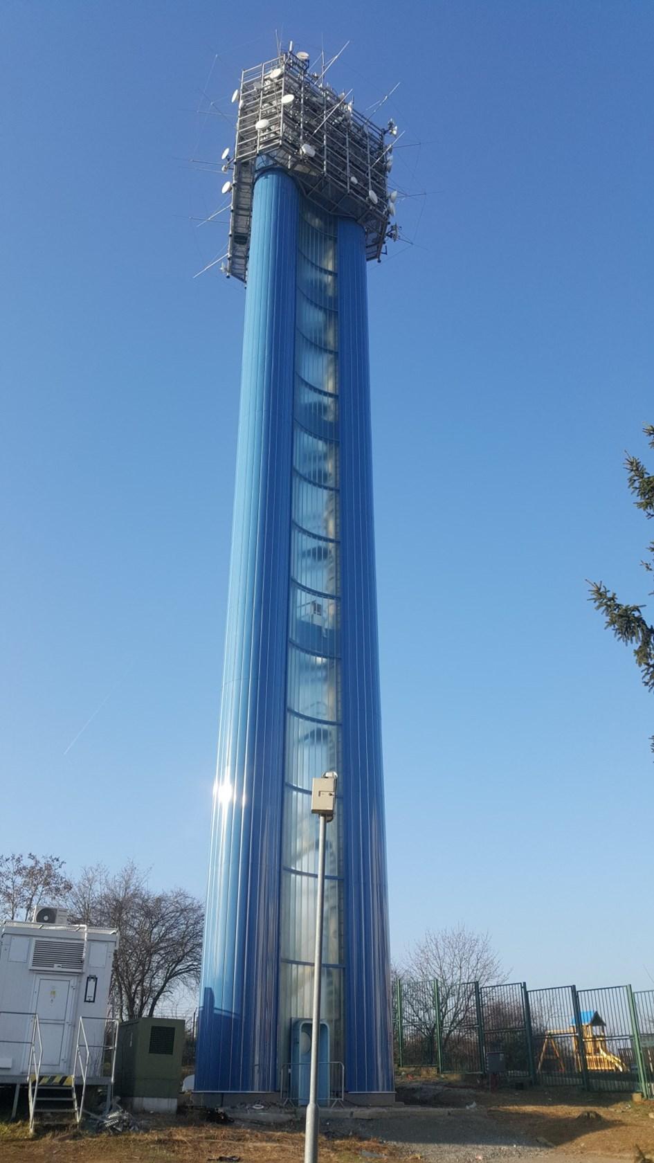 Vodárenská věž prošla kompletní sanací.