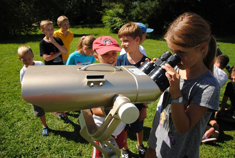 Loňské astronomické tábory se vydařily.