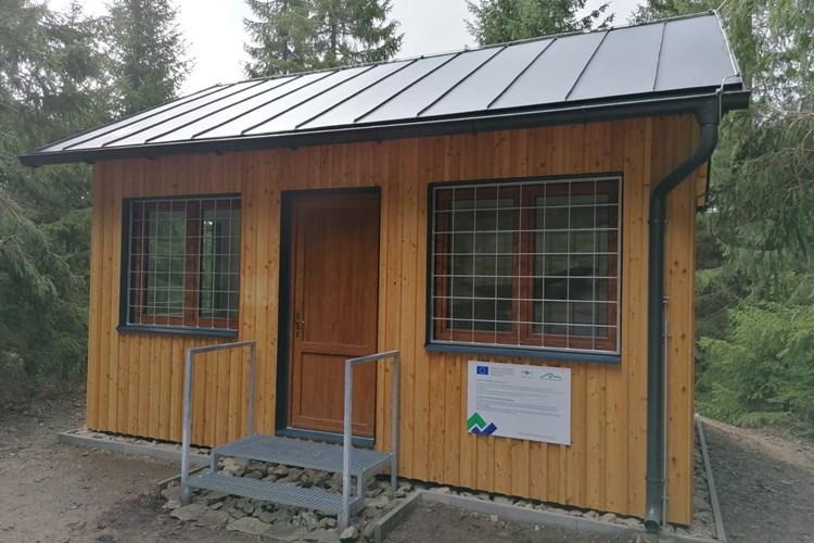 Nové zázemí pro návštěvníky štoly Johannes na Zlatém Kopci
