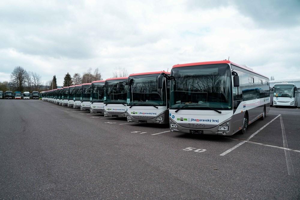 31 nových autobusů v Jihomoravském kraji