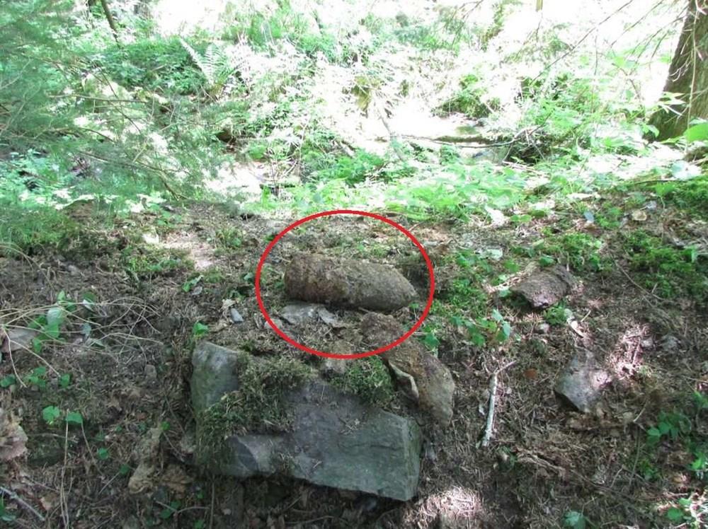 Nevybuchlý dělostřelecký granát ráže 7,5 cm Pzgr.