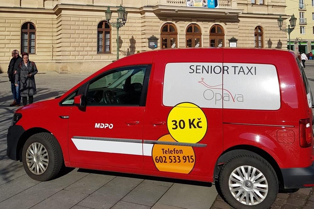 Seniortaxi bude zajíždět i do městských částí Opavy