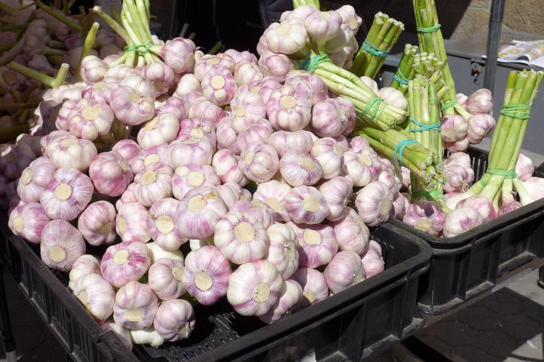 Městské farmářské trhy provoní česnek