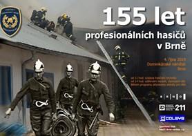 V pátek oslaví brněnští profesionální hasiči 155 let