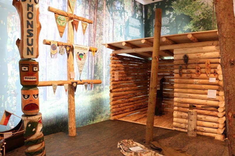 Popis: Výstava Století trampingu.