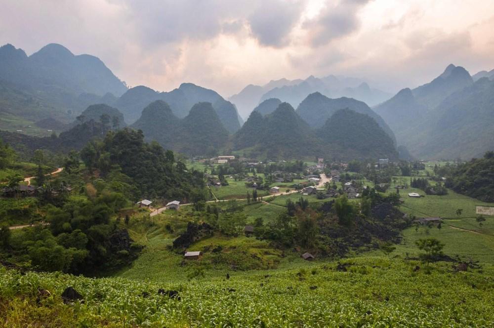Popis: Jeden ze snímků Petera Chalupianského z Vietnamu.