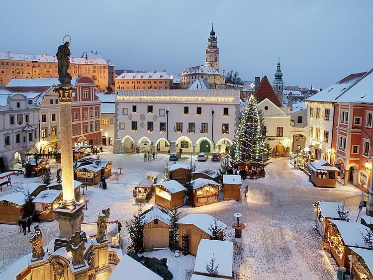Popis: Vánoce v Českém Krumlově.