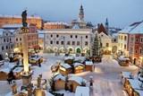 S přicházející zimou ukazuje Český Krumlov tvář plnou klidu a poezie
