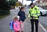 Děti na přechodech ve Valašském Meziříčí nepřehlédnete