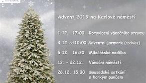 V adventním čase čeká Třebíčany zbrusu nová vánoční výzdoba a osvětlení