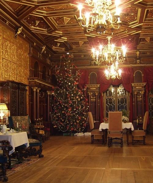 Popis: Vánoce na zámku Hrádek u Nechanic.
