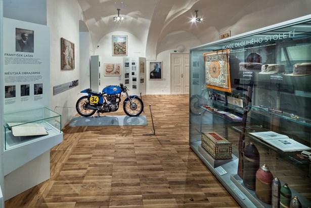 Popis: Regionální muzeum v Litomyšli.