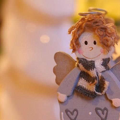 Jsem Tvůj anděl. To je výstava, která pomáhá