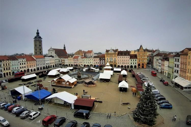 České Budějovice vyhlížejí advent