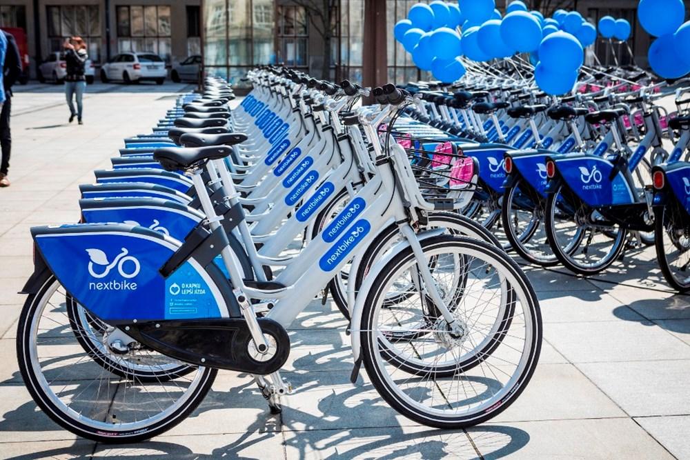 Popis: Společnost Nextbike bude zajišťovat bikesharing (sdílení kol) v Ostravě i v roce 2020.