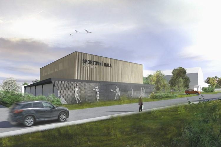 V Nové Bělé se v příštím roce začne stavět multifunkční sportovní hala