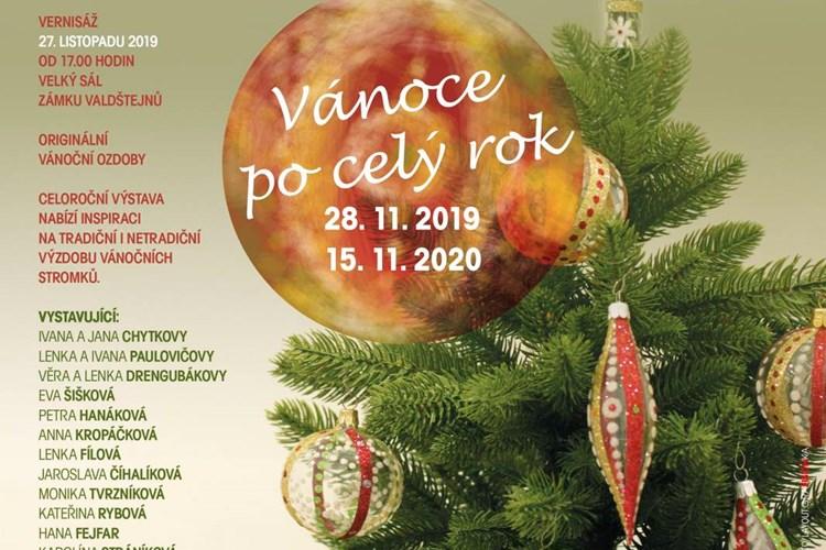 Celoroční výstava nabízí inspiraci na tradiční i netradiční výzdobu vánočních stromků