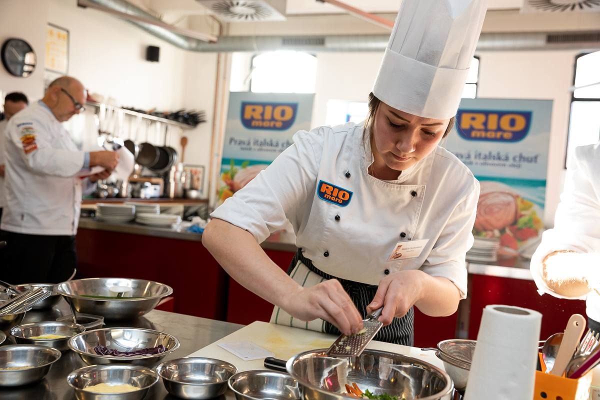 Soutěž Svačina roku s Rio Mare vyhrála kuchařka z Havířova