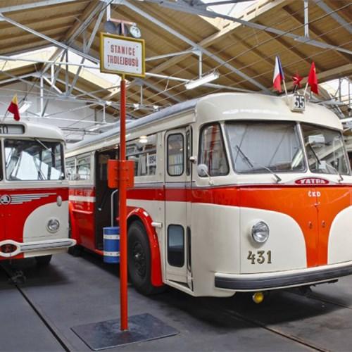 Muzeum městské hromadné dopravy v Praze – Vozovna Střešovice