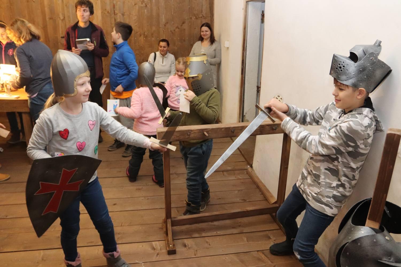 Zámek Vsetín má novou templářskou hernu