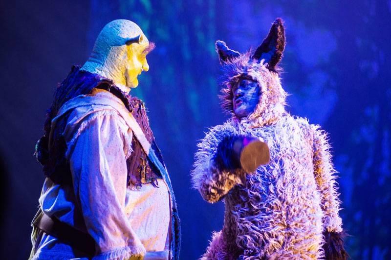 Muzikálová show SHREK se opět vrací na českou scénu