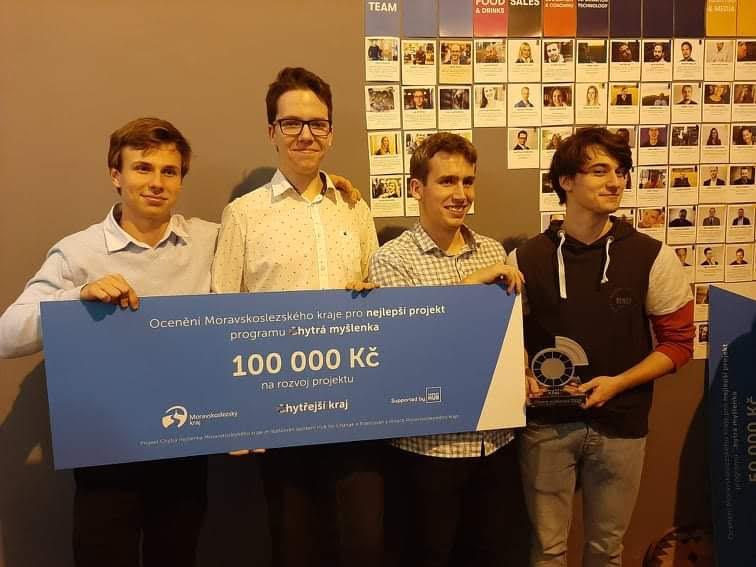 Studenti z Ostravy vyhráli Chytrou myšlenku 2019