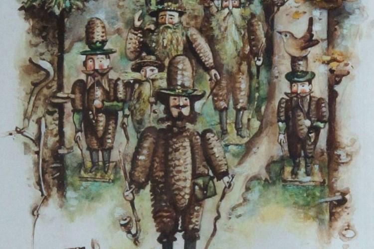 Expozici hornického domku zpestřuje připomínka havířů domkářů, zvláštní skupiny obyvatel hornického města