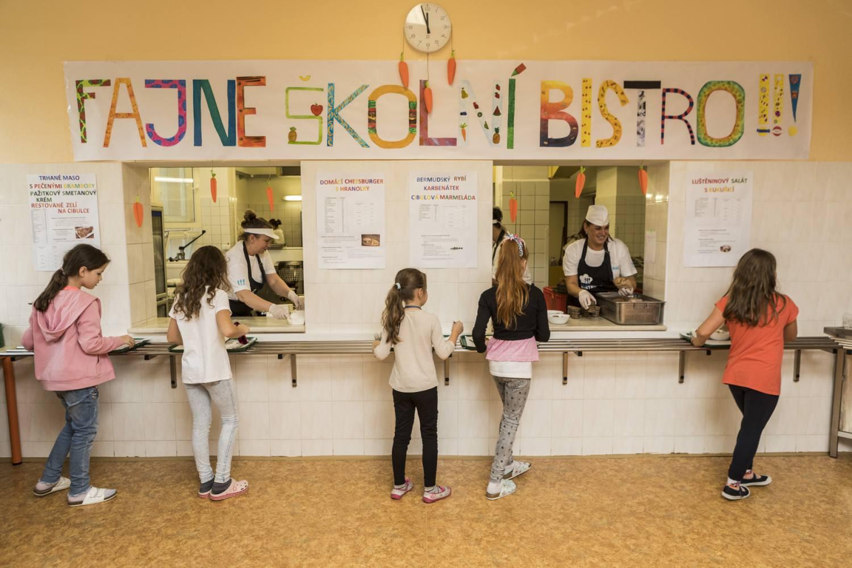 Fajne školní bistro bude pokračovat i v příštím roce