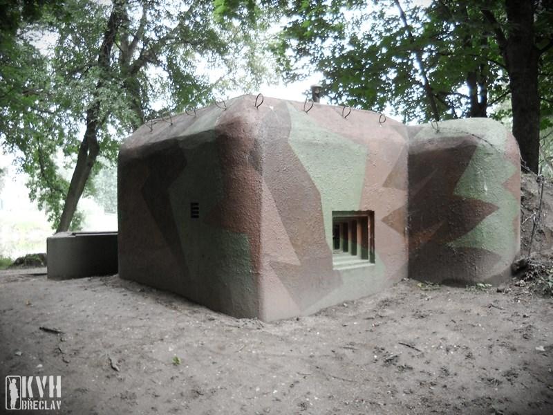 Popis: Muzeum lehkého opevnění na Pohansku.