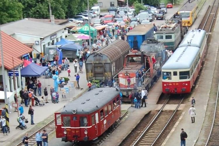 Den dětí se oslaví i na nádraží Praha-Braník