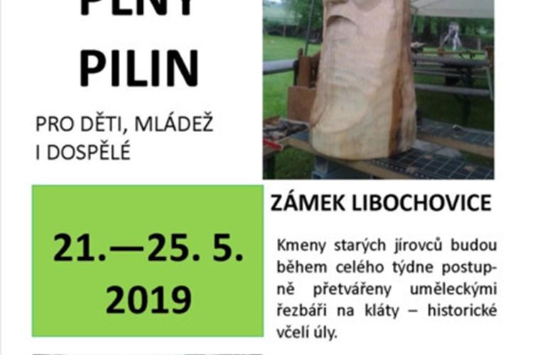 Květnový týden bude na zámku Libochovice plný pylin