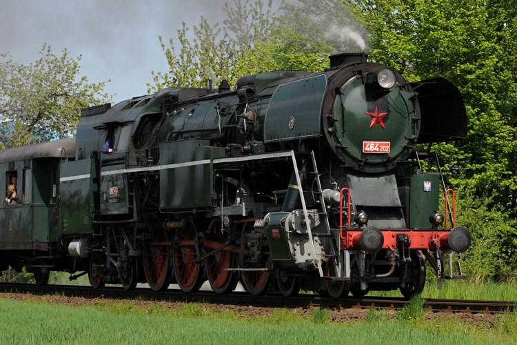 Svezte se parním vlakem do Rožnova na některou z letních akcí