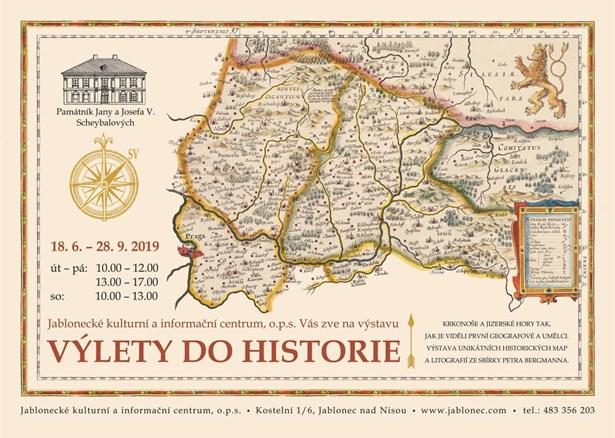 Popis: Historické mapy jsou k vidění v Domě národopisců Scheybalových v Jablonci nad Nisou. Můžete si je tady prohlížet do 28. září.