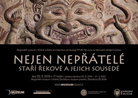 Výstava představuje mozaiku vzájemných vlivů a kontaktů utvářejících antickou kulturu